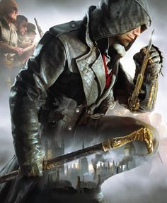 Assassin's Creed: Syndicate alternative cover art
