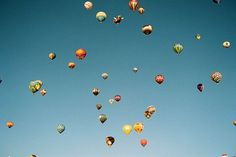 Inspiration. Balloons floating heavenward. Just cool. Good. Hope-full. Love it.