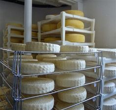 I love Vermont. Cheese rounds in the farm's factory.  We love entertaining at Renaissance Fine Jewelry in Vermont. www.vermontjewel.com.  Life is short so have fun!