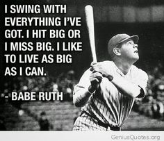 Sport Quotes Baseball Babe Ruth Ideas For 2019 Famous Baseball Quotes, Softball Quotes, Sport Quotes, Sports Inspirational Quotes, Baseball Motivational Quotes, Best Sports Quotes, Famous Baseball Players, Softball Cheers, Famous Quotes