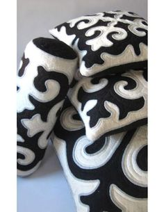 shyrdak pillows from l'aviva home
