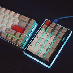 GH pad  by hotkeysproject... GMK RA most likely.