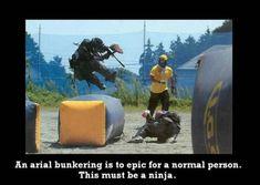 Ninja Paintball