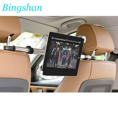 """Factory Sale Universal 7-11"""" Soporte Tablet Car Holder For iPad For Samsung Tablet PC For  Xiaomi Asus Car Headrest Mount Stand"""
