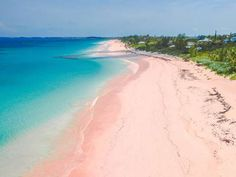 The pink sand beach on Harbour Island...my most favorite beach ever!