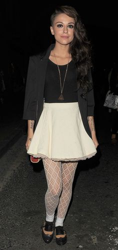 Cher Lloyd at London's Fashion Night Out + Leaving club Fashion Night, High Fashion, Lloyd Singer, Celebrity Outfits, Celebrity Style, Cher Lloyd, Vogue Fashion, Celebs, Celebrities