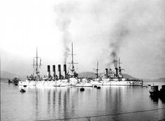 Russian Cruiser Varyag became a part of Russian fleet, it was based at Port Arthur.