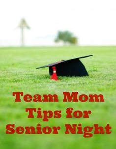 Team Mom Tips for Senior Night
