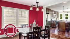 Color Themed Dining Room