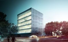 Chapultepec Cultural Center Competition Entry | Adrian Yau, Frisly Colop Morales , Jason Easter,  Lukasz Wawrzenczyk