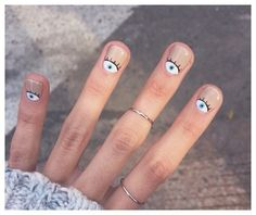 80 Awesome Minimalist Nail Art Ideas - You are in the right place about Beauty mask Here we offer you the most beautiful pictures about t - Nail Art Designs, Nail Art Ideas, Nail Art Halloween, Jolie Nail Art, Minimalist Nails, Dry Nails, Short Gel Nails, Pretty Nail Art, Manicure E Pedicure