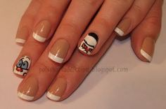 Polish Art Addiction: Pinky and the Brain nail art... love it!