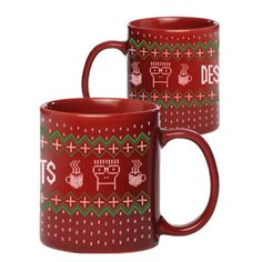 Ho Ho Ho - drink in the holidays with this Descendents- Holiday coffee mug. What you put in it is up to you!!  #ayp #punk #Descendents