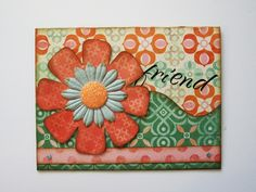 Designed by Debbie Budge using Thoughtful, Tiny Strips, Tiny Floral
