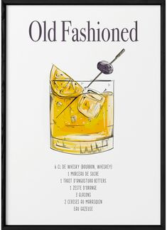 Cocktail Tequila Sunrise, Cocktail Shots, Cocktail Recipes, White Russian, Cocktails Drawing, Recipe Drawing, Old Fashion Cocktail Recipe, Manhattan Cocktail, Bottomless Brunch