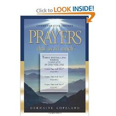 Beautiful, powerful prayers blended from Scriptures.