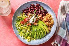 Buddha Bowl -HelloFresh-Veggies-How To-quinoa Burritos, Tomato Quinoa Recipe, Hello Fresh Recipes, Quinoa Bowl, Weekday Meals, Buddha Bowl, The Fresh, Kids Meals, Eating Clean