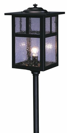 Arroyo Craftsman LV12-M6 Mission Craftsman Low Voltage Landscape Light - 20.5 inches tall - ARR-LV12-M6
