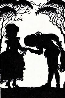 vintage silhouette