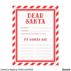 Printable letter to santa madlib projects to try pinterest letters to santa spiritdancerdesigns Image collections