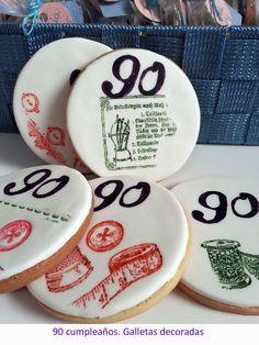 Cumpleaños. Galletas personalizadas | #cookies #fondant #GalletasDecoradas