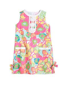 Lilly Pulitzer Kids Toddlers & Little Girls Little Lilly Classic Shift Dress