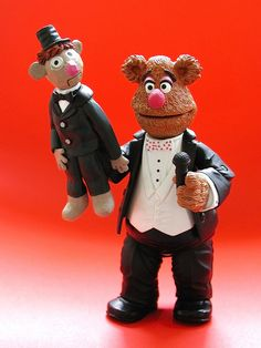 Every essential character from The Muppet Show was released, in the Palisades Toys Muppet Action Figures series along with obscure characters like Marvin Suggs and Lips. Don't you love this version of Fozzy Bear?