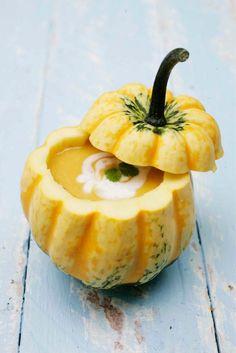 Spicy pumpkin soup // www.maku.fi