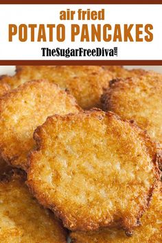 Air Fry Potatoes, Fried Potatoes Recipe, Air Fryer Baked Potato, Air Fryer Recipes Low Carb, Air Fryer Dinner Recipes, Air Fryer Cake Recipes, Air Frier Recipes, Matzo Meal, Guacamole