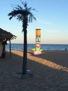 Sun is beginning to set! Beautiful beach at Mai Tiki Resort!
