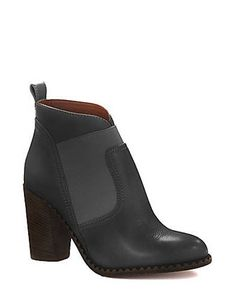 MARC BY MARC JACOBS Elastic Panel Booties , Black