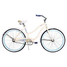 Cruiser Bike with Flower Details