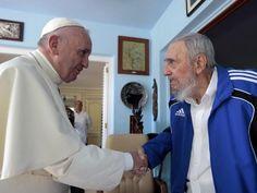 Fidel dá o livro  de frei Betto ao Papa http://www.conversaafiada.com.br/brasil/fidel-da-o-livro-de-frei-betto-ao-papa…