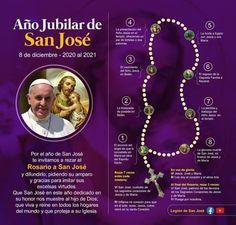 Jesus And Mary Pictures, Mary And Jesus, Catholic Prayers In Spanish, Holy Rosary, Love Songs Lyrics, God Prayer, St Joseph, Pope Francis, Religion