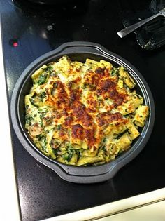 spinach, artichoke, cheese - easy dinners