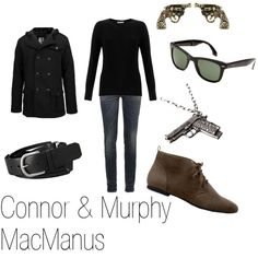 Connor & Murphy MacManus, created by ja-vy on Polyvore