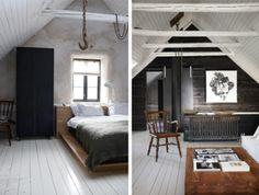 Love the vaulted ceiling and white flooring.  Hate the hook.  Creeeeeepy!