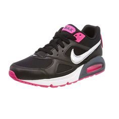 Nike Air Max IVO Running Shoes Black Silver Pink Women s size 9 US  Nike   112066f548