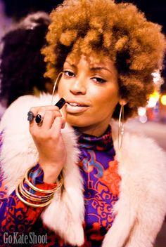 via Black Women Natural Hairstyles