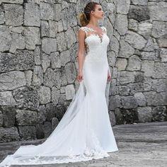 5e4543ebd819 LORIE Mermaid Wedding Dresses Turkey 2019 Appliques Lace Custom Made Bridal  Dress Wedding Gown vestidos de noiva Plus size