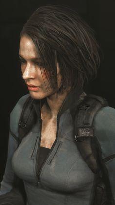 Valentine Resident Evil, Resident Evil Girl, Resident Evil 3 Remake, Leon S Kennedy, Jill Valentine, Cs Go, Video Game Art, Art Model, Beauty Make Up