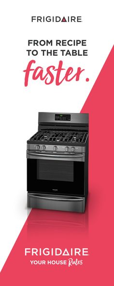 Beautiful Black Stainless Steel in an easy-to-clean Smudge-Proof™ finish that resists fingerprints. This gas range also has a convection fan to circulate hot air, so you can bake your traditional and convection recipes faster and more evenly – even when using multiple racks.