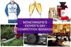 We have 5 days of AMAZING gifts to giveaway this Father's Day.   Enter here now! http://www.moneymagpie.com/article/fathers-day-competition-bonanza