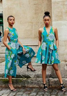 Love these African print looks especially that jumpsuit! A culottes jumpsuit is so now!