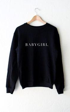Baby Girl sweatshirt sweater tshirt unisex adult size S-3XL