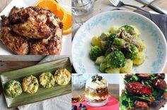 Een nieuw weekmenu met deze keer: broccoli salade met tonijn, ei muffins, kip met sinaasappel en ras el hanout, homemade barbecuesaus en een feestontbijt.