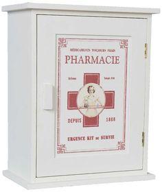 Medizinschrank Pharmacie 30EUR H30 X B24 T