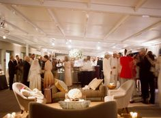 lounge area at wedding
