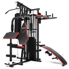100kg Multi Station Home GYM Exercise Equipment W Boxing Punching BAG Dumbbells | eBay  http://stores.ebay.com.au/powertrainaustralia?_trksid=p2047675.l2563