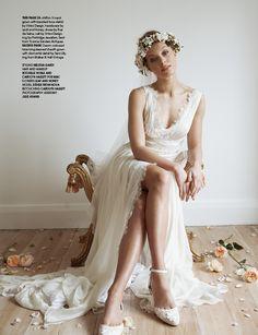 Rebekah, as seen in NZ Weddings Magazine